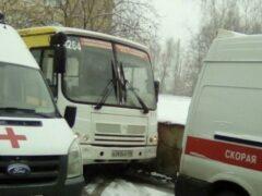 Водитель маршрутки в Петербурге спас жизнь пассажира