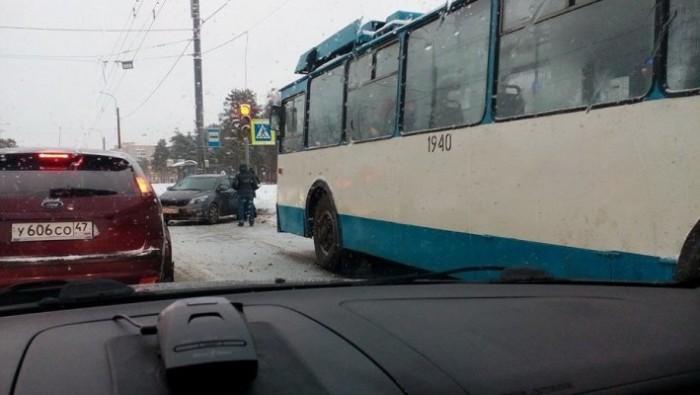 массовое ДТП троллейбус