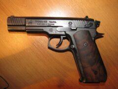 В парке Самары грабитель отобрал у пенсионера травматический пистолет