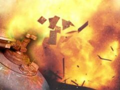 В Архангельске пенсионер получил ожоги из-за взрыва газового баллона