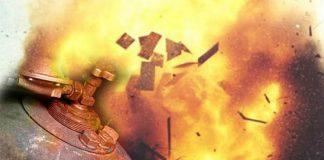 баллон газ взрыв