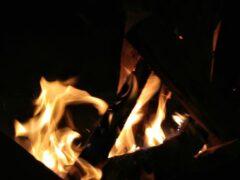 В Курске и области горели баня и дома