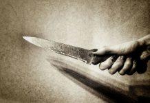__нож женщина