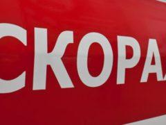 Появилось видео падения столба на пенсионерку в Подмосковье