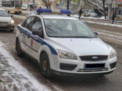 ДТП в Красноярске: На глубоком обходе столкнулись фура и иномарка