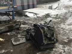 В Сызрани погиб попавший на снегоходе под поезд мужчина