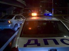 В Подмосковье полицейские со стрельбой задерживали лихача на BMW