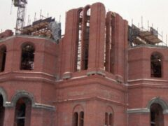 В Саратове охранник украл со стройки храма металл на миллион рублей
