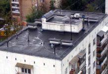 многоэтажка крыша