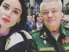 Тина Канделаки получила медаль от Минобороны РФ