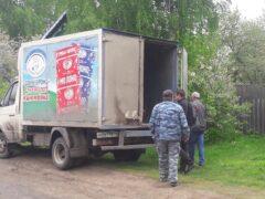 Покойника вместо катафалка везли на грузовике с «Доброй буренкой»