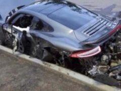 В Ростове автомобиль Porsche за 11 млн рублей разбил мастер-приемщик
