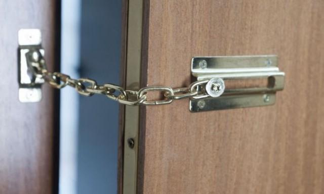 дверь цепочка