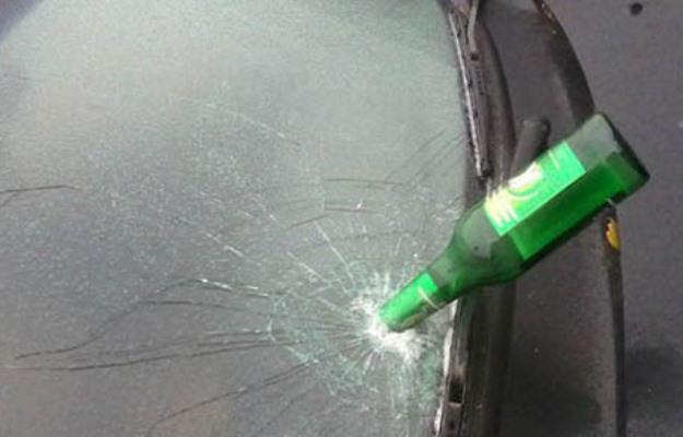 __бутылки в авто