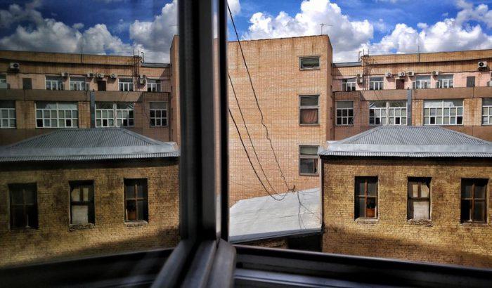 __окно офисы здание дом завод