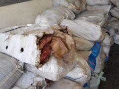 В Воронежской области задержали более 20 тонн тухлого мяса