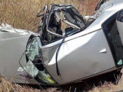 В ДТП в Башкирии перевернулась «Лада Гранта»: пострадала женщина