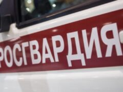 В Омске автоледи без прав застряла в сугробе