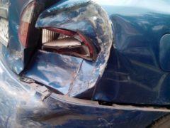 В Оренбурге в ДТП с участием четырех иномарок пострадал водитель