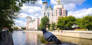 __ Москва, вода, набережная