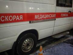 Пассажир «скорой помощи» пострадал в ДТП в Барнауле