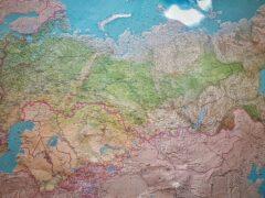 Школьник из Уфы разработал географическую карту для слепых