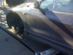 Кемеровчанин украл колеса с автомобиля без сигнализации