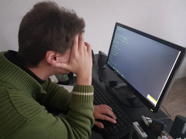 __компьютер, интернет, человек, мужчина