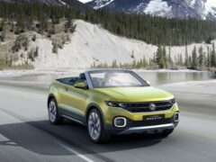 Volkswagen презентовал кросс-кабриолет на базе T-Roc