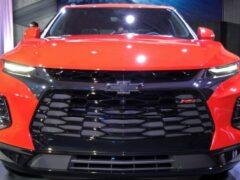 GM показал салон 7-местного Chevrolet Blazer