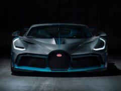 Гиперкар Bugatti Divo прошел экстремальное испытание пустыней