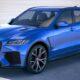 Jaguar представил спортивный кроссовер F-Pace SVR в Нью-Йорке