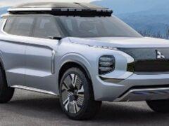 Mitsubishi показала в Шанхае концептуальный гибрид e-Yi