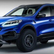 Ford готовит новую версию кроссовера Kuga/Escape