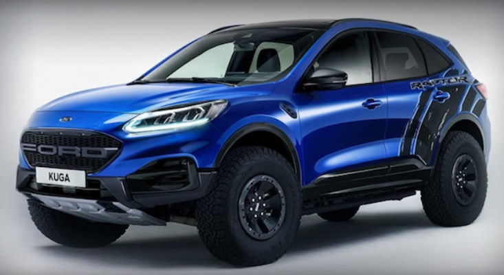 Ford Escape Raptor внедорожник версии дизайнеры