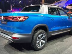 Volkswagen покажет в Нью-Йорке пикап Tarok