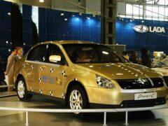 Lada Siluet, так и не вышедшая в серию