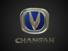 Новый кроссовер Changan CS55 показали на первых скетчах