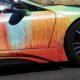 Художник превратил BMW i8 в произведение искусства