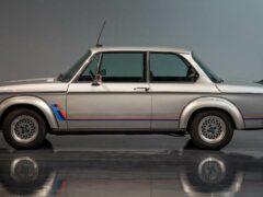 Классический BMW превращается в трек-кар с двигателем V10