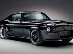 Классический Ford Mustang стал электрокаром