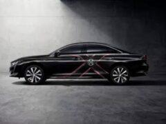 Peugeot 508L получит лимитированную версию X-Men