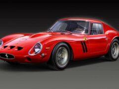 Самый дорогой Ferrari 250 GTO признали произведением искусства
