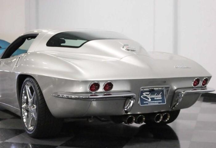 Chevrolet Corvette, дизайн 67 г.в.