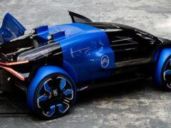 Citroen презентовал футуристический концепт с радикальным дизайном колес