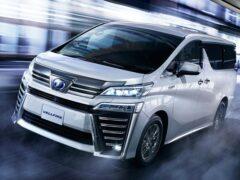 Toyota выпустит преемника минивэна Alphard в октябре 2019 года