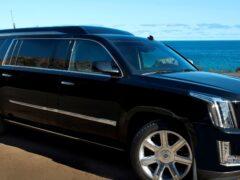 Внедорожник-лимузин Cadillac Escalade ESV продадут на аукционе