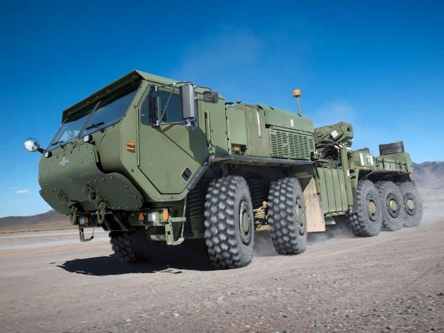 Oshkosh LVSR, военный грузовик