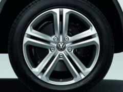 Volkswagen выпустил самовыравнивающиеся центральные колпачки дисков