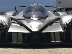 RAESR создала 1250-сильный электрокар Tachyon Speed